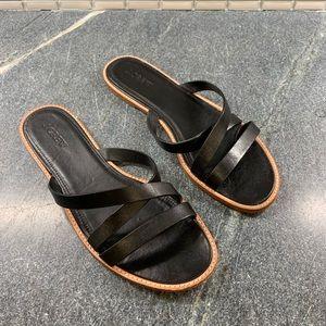 J. Crew Black Strappy Sandals